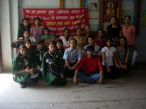 Community helpers at a recent screening camp