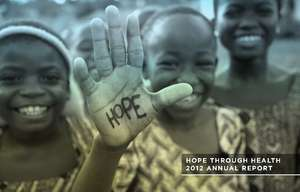 Hope Through Health 2012 Annual Report (PDF)