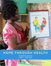 Hope Through Health - Q2 2014 Progress Report (PDF)