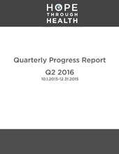 Q2 2016 Progress Report (PDF)