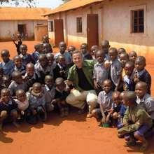 Rick with Matulani school children