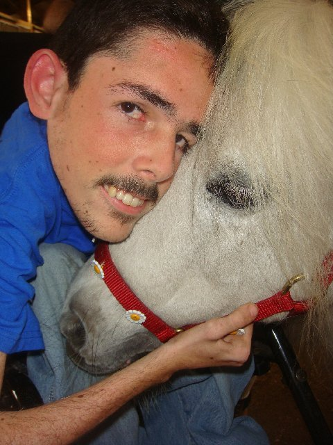This is a picture of Niko.  http://www.personalponies.org/blog/2010/08/niko-and-sugar-lips/ gives you more of his story.  Niko is one of many that have benefited from our program and the funds we are able to raise to support various aspects of what we do.