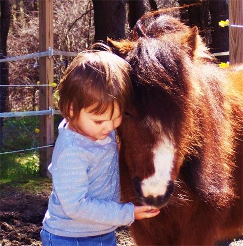 Provide Care for a Differently Able Child's Pony