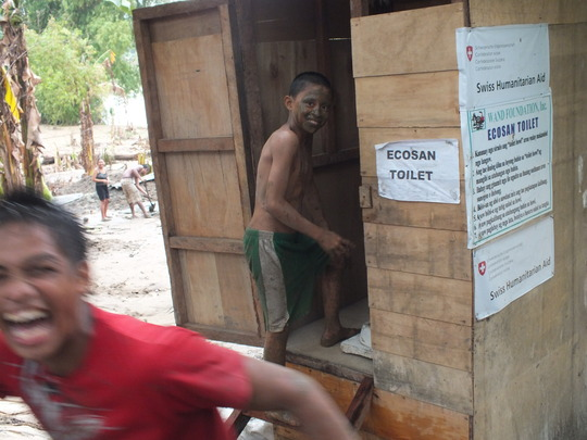 Portable ecosan toilet