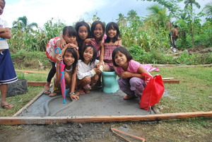 Ecosan solution in a school in Mindanao