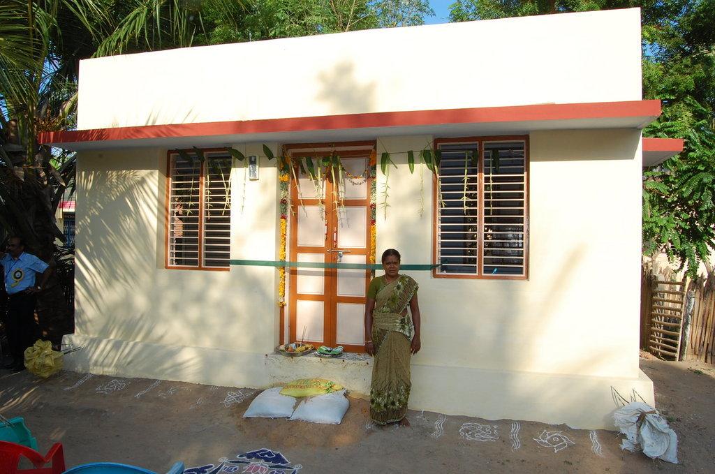 help 113 irula tribal families in Tamilnadu India