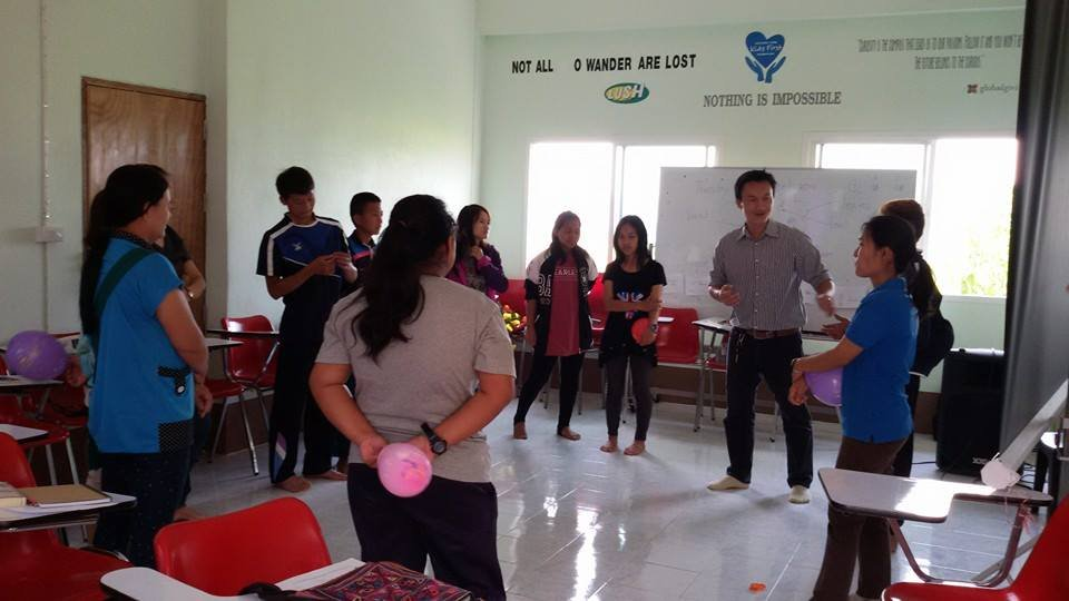 A Citizenship Rights Class Facilitated by Win