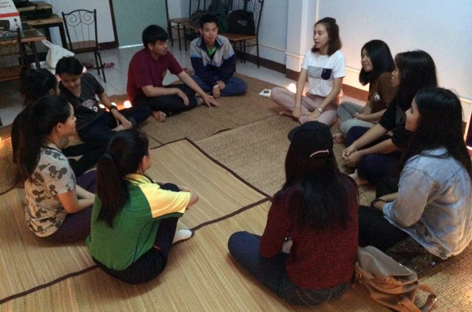 Academic counseling session at the City Center