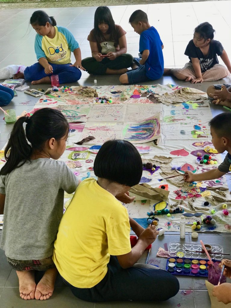 Art therapy helps students understand themselves.