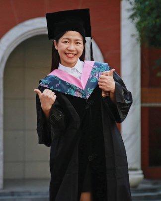Somying graduated earlier this year.