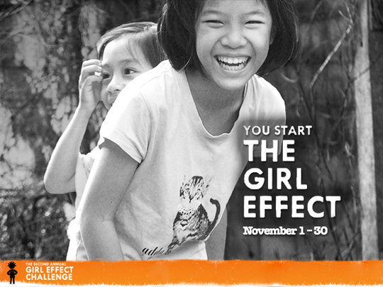You start the Girl Effect