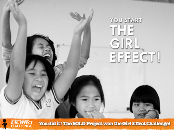 We won the 2nd annual Girl Effect Challenge!