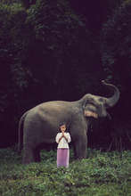 Child and Elephant