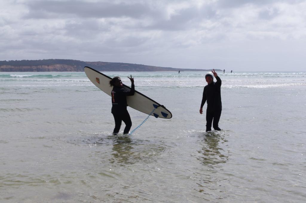 Fun times in the sea!