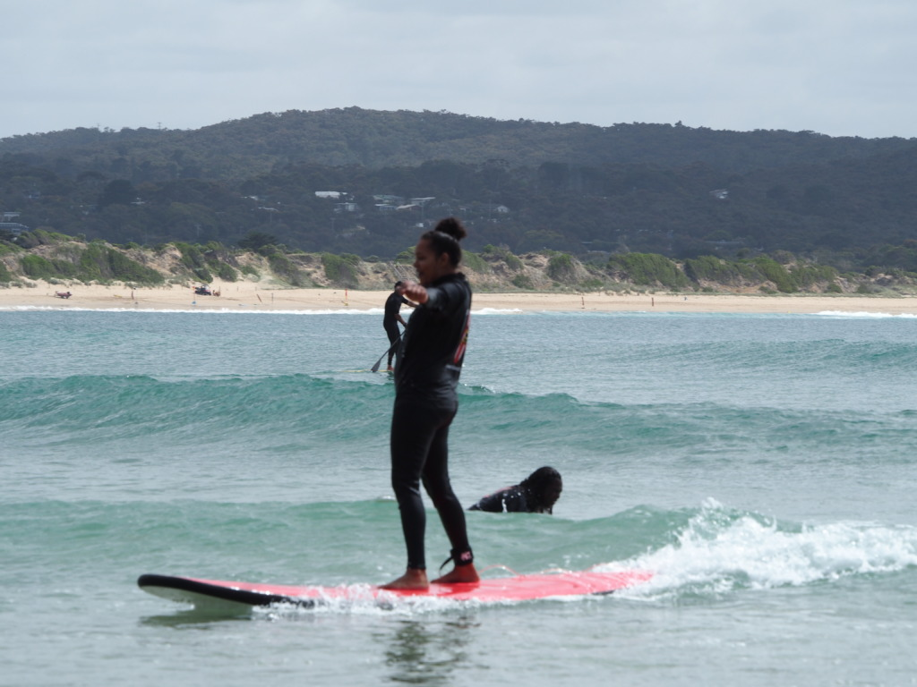 Getting the hang of the waves