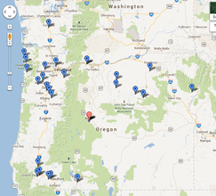 Map of our hits!