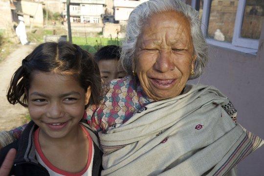 "Anita and community ""Grandma""."