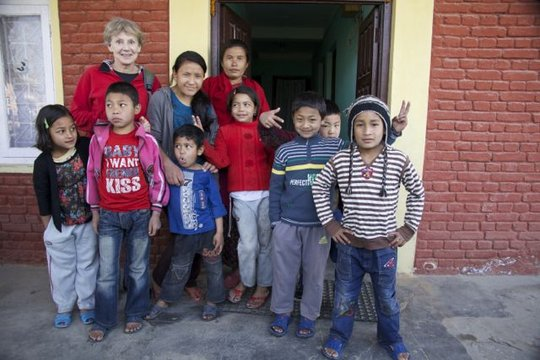 Home and Community for Orphans in Nepal