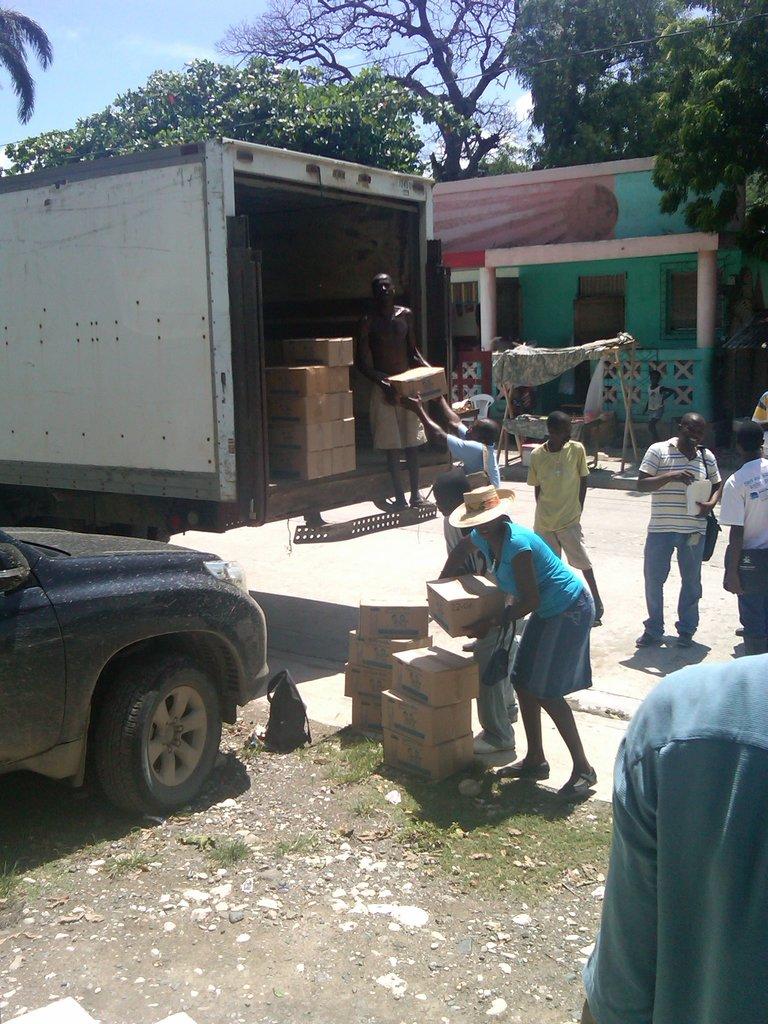 Delivering Gadyen Dlo to Chansolme