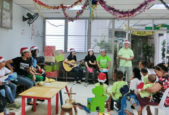 Program with Kids in the Hospital to cheer them up
