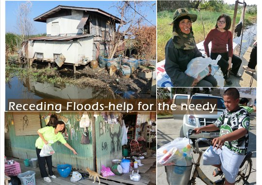 Blanket them With Love -Flood&Cold Relief Thailand