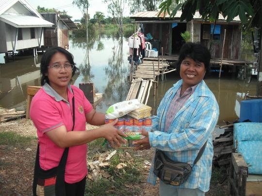 Villagersaffected by the floods, Sep-Oct 2012