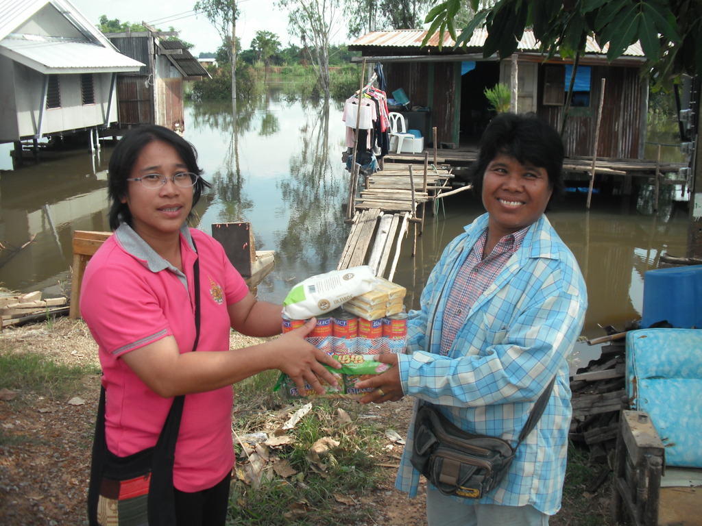 Villagersaffected by the floods, Sep-Oct 2012