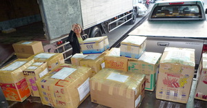 Delivery to the North and North-Eastern Thailand