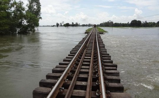 Transportation affected in northeast Surin