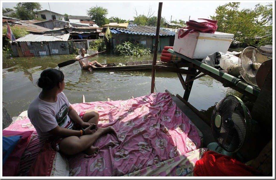 Flooded Housing Estates