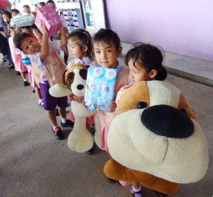 Bringing Love to the Children