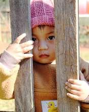Hilltribe toddler in Samerng Chiangmai