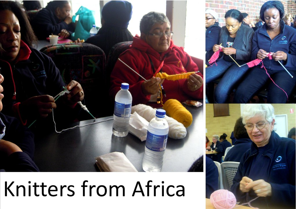 Knitters from Africa