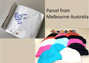 Parcel from Australia