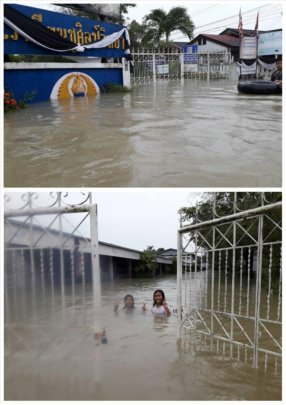 The Height of the Flooding