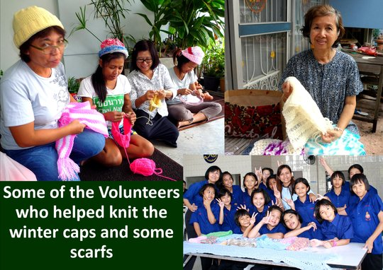 Some of the Volunteers involved