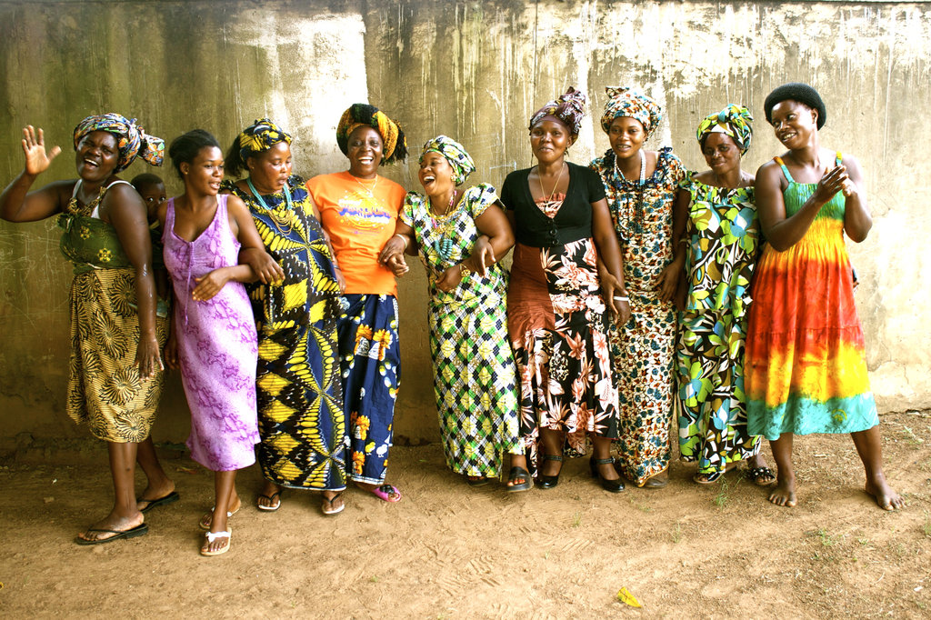 Imani women laughing