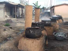 Smokeless Stoves Ready For Use