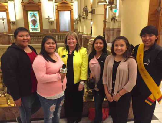 Ute Mountain Ute Girls interview CO State Senator