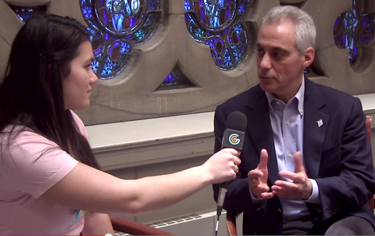 GGM Chicago interview with Rahm Emanuel