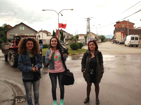 GGM Kosovo on location