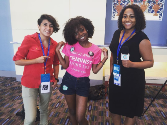 GGM Reporters at the DNC