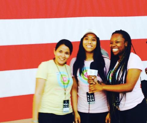 L.A. GlobalGirls at Politicon