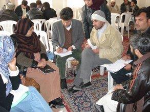 AIL Herat Group Work in Advanced Leadership Workshop