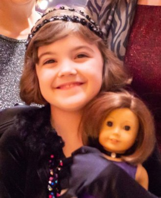 Mia and her Doll Grace
