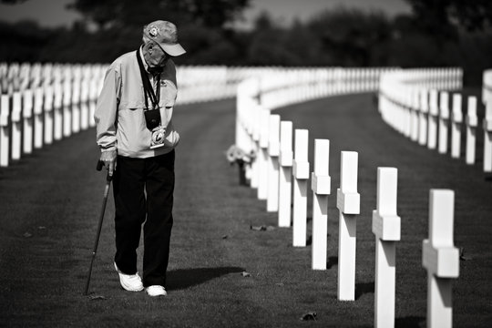 Send WWII Vets Back to Normandy With Students