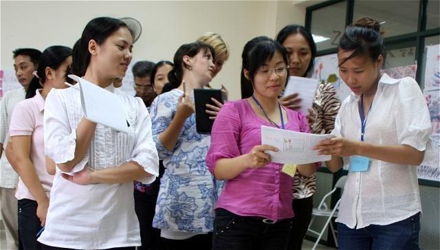 Clients at Hagar Vietnam