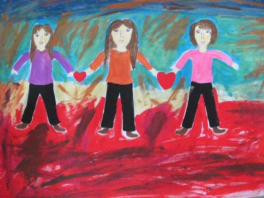A Clients Artwork: Sisters