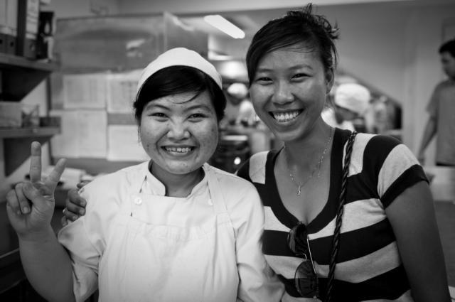 Hagar Vietnam Caseworker with Reintegrated Client