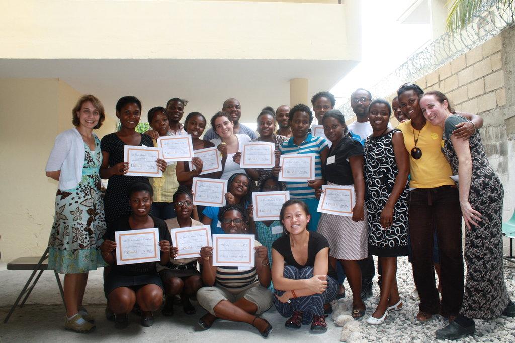 Women of TOYA Foundation, future LitClub leaders.